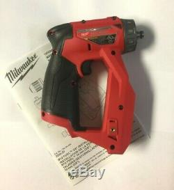 Milwaukee 2505-20 M12 FUEL Brushless Installation 4-in-1 Drill/Driver BARE TOOL