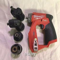 Milwaukee 2505-20 M12 FUEL Installation Drill Driver (Tool, 4 Heads & Bag Only)