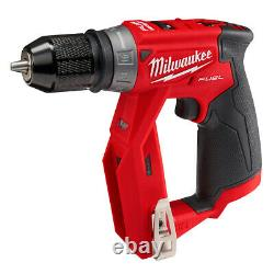 Milwaukee 2505-20 M12 FUEL Installation Drill/Driver with4 Tool Head (Tool Only)