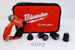 Milwaukee 2505-20 M12 Fuel Installation Drill/Driver with Attachments (Tool Only)