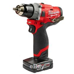 Milwaukee 2598-22 12-Volt 2-Tool Hammer Drill and Impact Driver Combo Kit