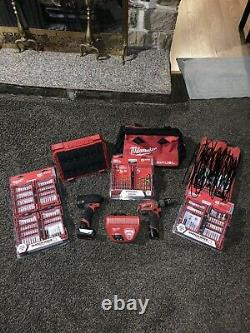 Milwaukee 2598-22 M12 FUEL 2-Tool Combo Kit With Extras