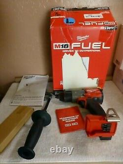 Milwaukee 2803-20 M18 FUEL Li-Ion Cordless Drill/Driver Tool Only NEW