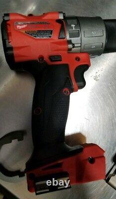 Milwaukee 2804-20 M18 FUEL 1/2in Hammer Drill/Driver & handle New Tool Only