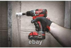 Milwaukee 2892-22CT M18 Compact 2-Tool Combo Kit, Drill Driver/Impact Driver