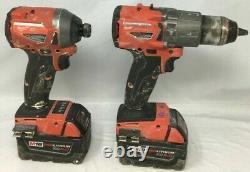 Milwaukee 2997-22 FUEL M18 18-Volt 2-Tool Hammer Drill/Impact Driver Kit, GL452