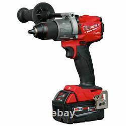 Milwaukee 2997-22 M18 FUEL 2-Tool Hammer Drill/Impact Driver Combo Kit NEW