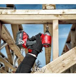 Milwaukee 2997-22 M18 FUEL 2-Tool Hammer Drill & Impact Driver Kit + 2 Batteries