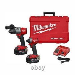 Milwaukee 2997-22 M18 FUEL Hammer Drill/Impact 2-Tool Combo Kit, New