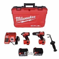 Milwaukee 2999-22 M18 FUEL 2-Tool Kit, Hammer Drill & Surge 1/4 Impact Driver