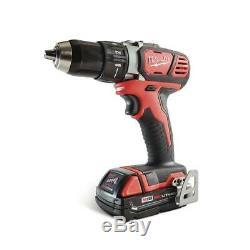 Milwaukee Cordless Tool Combo Kit 18-Volt Lithium-Ion Battery Charger Tool-Bag
