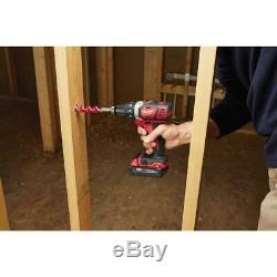 Milwaukee Drill Driver/Impact Driver Combo Kit 18V Lithium-Ion Cordless (2-Tool)