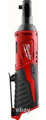 Milwaukee Electric Tools 2456-20 Milwaukee M12 Cordless 1/4 In. Ratchet bare
