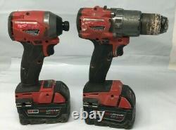 Milwaukee FUEL 2997-22 M18 18-Volt 2-Tool Hammer Drill/Impact Driver Kit VG