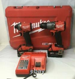Milwaukee FUEL M18 2997-22 18-Volt 2-Tool Hammer Drill/Impact Driver Kit GR