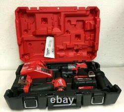 Milwaukee FUEL M18 2997-22 18-Volt 2-Tool Hammer Drill/Impact Driver Kit, N