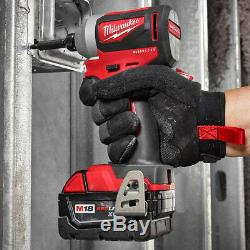 Milwaukee M18 2892-22CT 18-Volt 2-Tool Drill Driver and Impact Driver Combo Kit