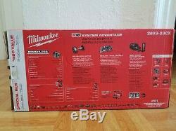 Milwaukee M18 3 Tools Combo Kit