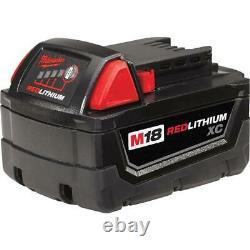 Milwaukee M18 Cordless Combo Tool Kit 6 Tools Drill Impact Saw Grinder Light