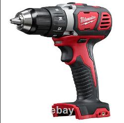 Milwaukee M18 Cordless LITHIUM-ION 2-Tool Combo 2961-22 withBatteries/Charger/Bag