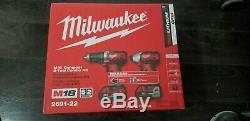 Milwaukee M18 Li-Ion 2-Tool Combo Kit 2691-22 BRAND NEW & SEALED