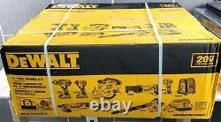 NEW DeWalt DCK1020D2 Cordless 20V MAX Lithium-Ion 10 Tool Combo Kit Sealed