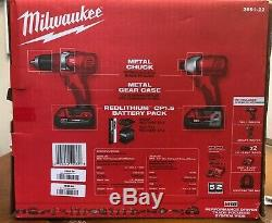 NEW Milwaukee 2691-22 M18 Li-Ion 2-Tool Combo Kit