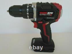New Brushless Hammer Workzone Xfinity 20v Cordless Drill Skin Driver Power Tool