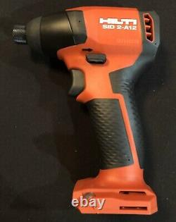 New Edition HILTI SID 2A 12v Drill Impact Driver No Battery No Charger Bare Tool