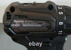 New! Makita 18V LXT Sub Compact Brushless 1/2 Drill Driver (XFD11) Tool Only