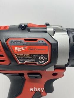 New Milwaukee 18 Volt M18 Drill Driver (Bare Tool) # 2606-20
