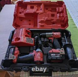 New Milwaukee 2997-22 M18 Fuel 2-tool Combo Kit, Hammer Drill & Impact Driver