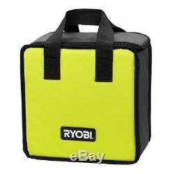 New Ryobi P252 18V 18 Volt Cordless 1/2 in. Brushless Drill Driver with Tool Bag