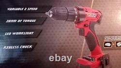 New Workzone Xfinity 20v Cordless Drill Skin Only Driver Power Tool Li-ion Diy