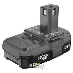 RYOBI Drill/Driver Combo Kit 18-Volt Lithium-Ion Brushed Motor Cordless (6-Tool)