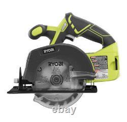 RYOBI P1819 18V Cordless 5 Tool Combo Kit Set Impact Drill Driver. Used! Tested