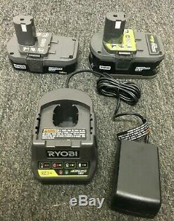 RYOBI P1819 18V One+ Cordless 6 Tool Combo Kit Set, ZX349