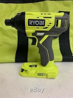 RYOBI P1819 One+ 18V Cordless 6 Tool Combo Kit Set Impact Drill Driver Saw R702