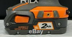 Ridgid R96021 Drill Impact Driver 2 Power Tool Combo Cordless Kit, ZX114