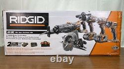 Ridgid R9652 GEN5X 18V Lithium-Ion Cordless 5pc Tool Combo Kit
