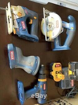 Ryobi 18v tools combo