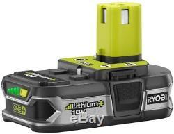Ryobi 8 Tool Combo Kit Cordless Drill Driver Circular Saw Area Light Battery