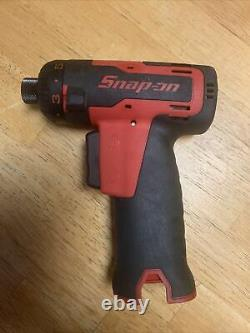 SNAP-ON CTS661 ¼ 7.2V SCREWDRIVER IMPACT DRIVER DRILL Tool Only (Lithium)#757
