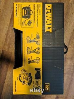 Sealed Dewalt 20v Max Lithion-ion 5-tool Combo Kit Dckss520d2 Brand New