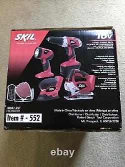 Skil 2887-23 18V Cordless 4-Tool Combo Kit. BRAND NEW IN BOX