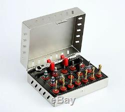 Surgical Drills Kit Dental Implant Basic Tools Ratchet Hex Drivers Parallel Pins