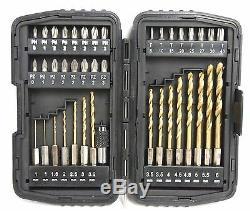 40pc Power Tool Drill & Driver Bits Avec Étui
