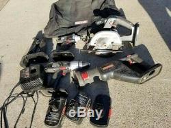 Artisan 5 Pc 19.2v C3 Sans Fil Power Kit Outil Avec Un Impact Et Forage