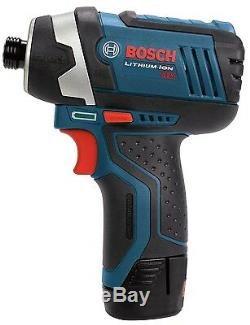 Bosch Clpk22-120 12-volt Lithium-ion 2-tool Combo Kit Perceuse / Visseuse Et Impac