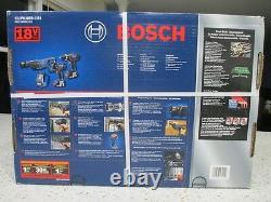 Bosch Clpk495-181 4-tool 18-volt Lithium Ion Cordless Combo Kit